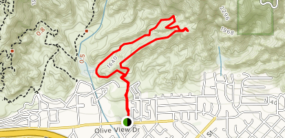 Wilson Canyon Trail Map