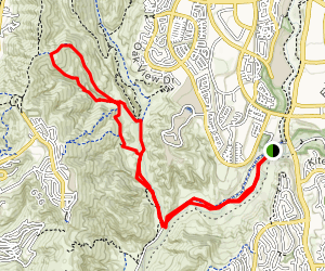 Dripping Cave Hollow Oak Trail Map