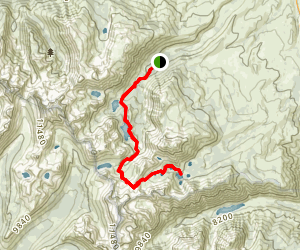 Virginia Lakes Campground Trail Map