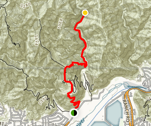 Fish Canyon Falls Trail [CLOSED] Map