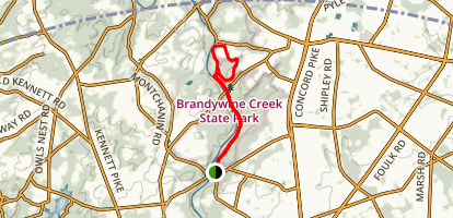 Creek Road Trail Map