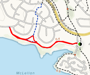 Writer Vista Park Trail Map
