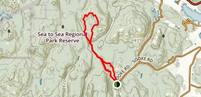 Castle Peak Trail Map