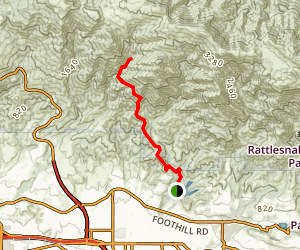 Arroyo Burro Trail Map