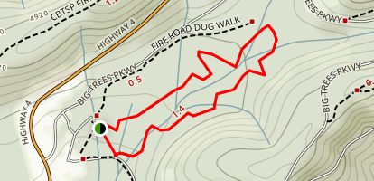 North Grove Trail Map