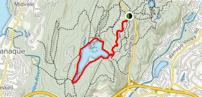 Erskine Lookout Trail  Map