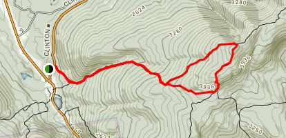 Crawford Notch Trail Map