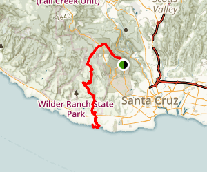 UCSC to the Sea Map