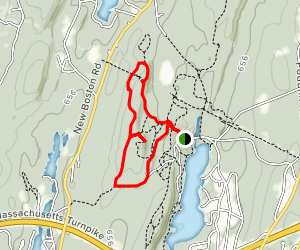 North and South Trail Map