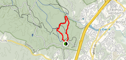 Birch Bluff Trail Map