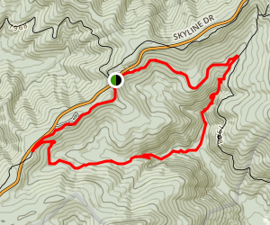 Appalachian Trail: Jones Run Trail to Pinefield Gap Map