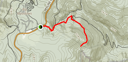 Stony Mountain Trail Map