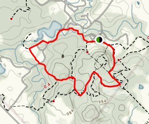 Albion Hills Conservation Area Trails Map