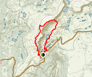 Medicine Bow  Trail Map