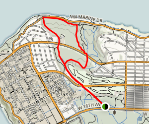 Salish Trail to Spanish Trail Loop Map
