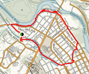 Canal Park Trail Map