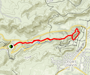 Old CCC Trail Map