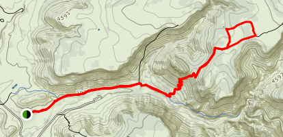 Apache Maid Trail Map