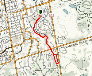 Sheppard's Bush and Oak Ridges Trail Map