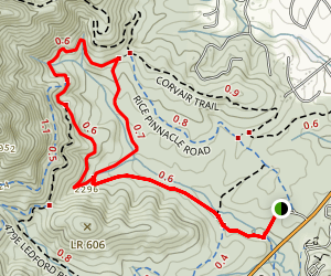 Wolf Branch Loop Trail Map