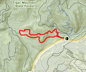 Iverson Railroad and Northwest Timber Trails Map