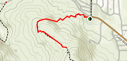 Hauser Canyon Trail Map