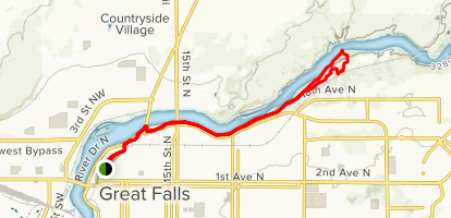 Rivers Edge Trail Map
