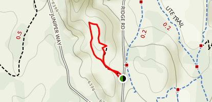 Ridge Loop Trail Map