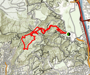 Rock Point Overlook Trail Map