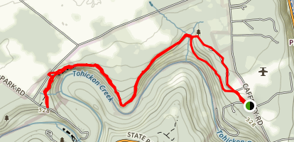Tohickon Valley Park Map
