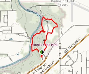 Mounds State Park Map