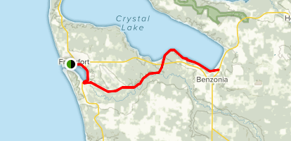 Betsie Valley Trail Map