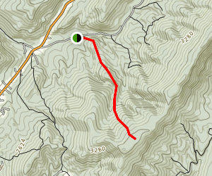 Piney Mountain Trail Map