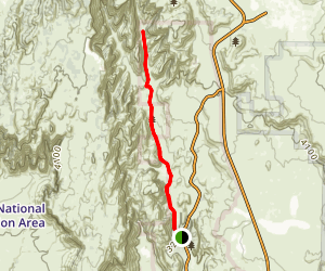 West Canyon Road Map