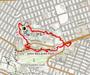 McLaren Park & Excelsior Stairway Walks Map