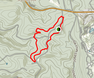 Roaring Run Ramble Trail Map