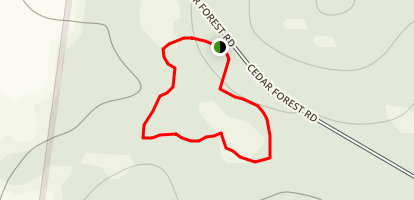 Cedars of Lebanon State Park Campground Map