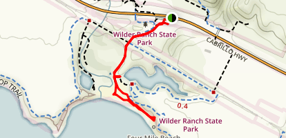 Four Mile Beach Map