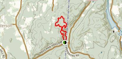 Michael Ciaiola Conservation Area Trail Map