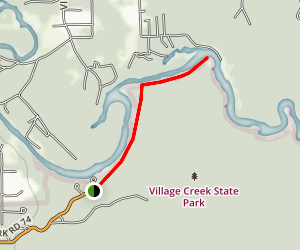 Village Slough Trail  Map