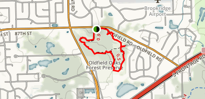 Oldfield Oaks Map