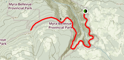 Myra Canyon Trail Map