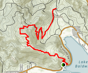 Gold Mountain Trail Map