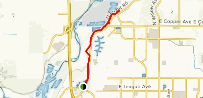 Lewis S Eaton Trail Map