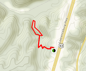 Stillhouse Hollow Falls Trail Map