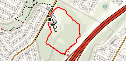 Dick Nichols Park Trail Map