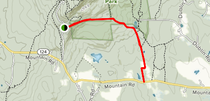 Parker Trail Map
