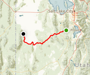Pony Express Trail Drive Map