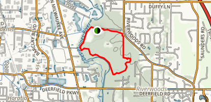 E.L. Ryerson Conservation Area Loop Trail Map