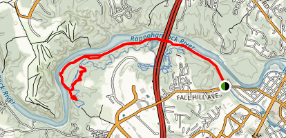 Rappahannock River Trail Map